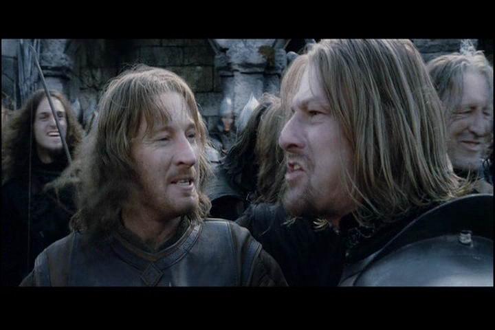 faramir and eowyn meet the parents